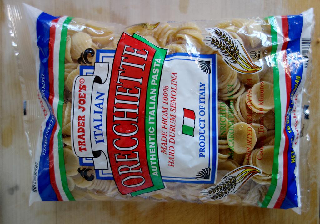 Orecchiette one pan pasta recipe