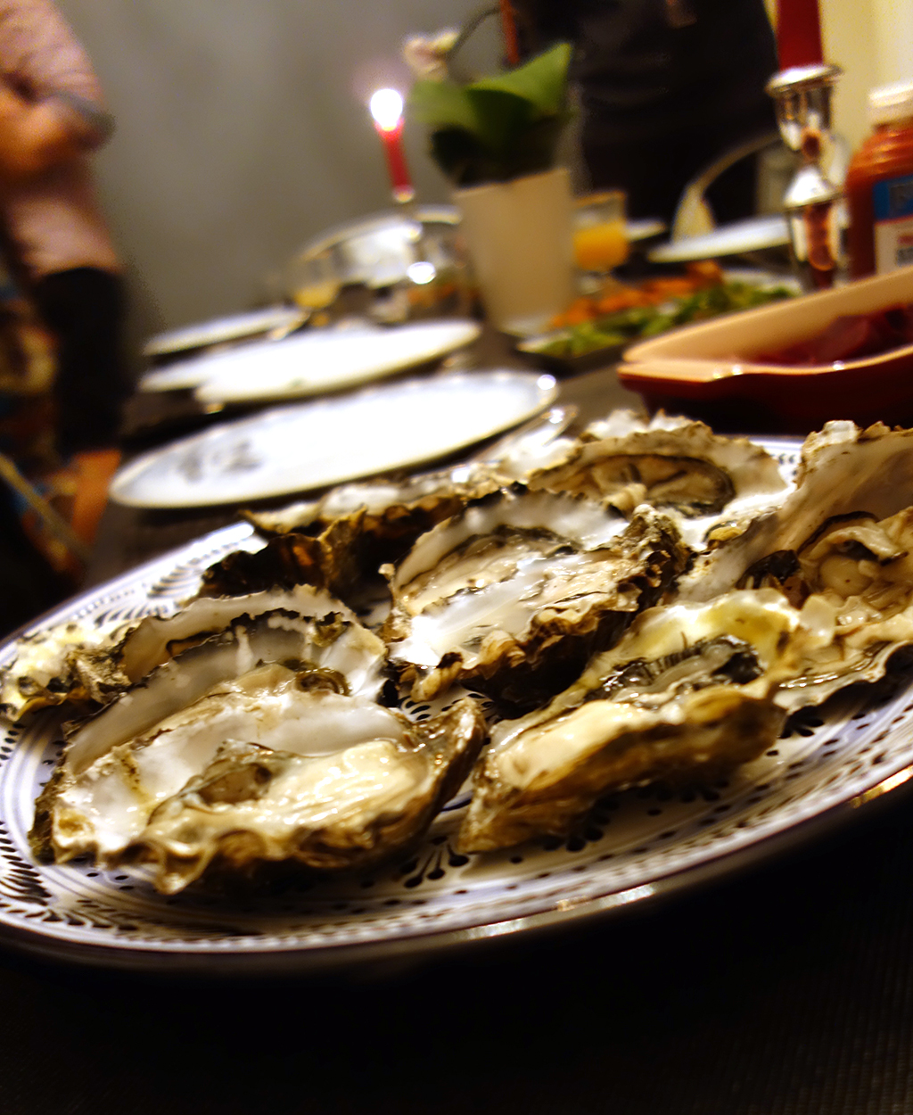 Bay Area oysters
