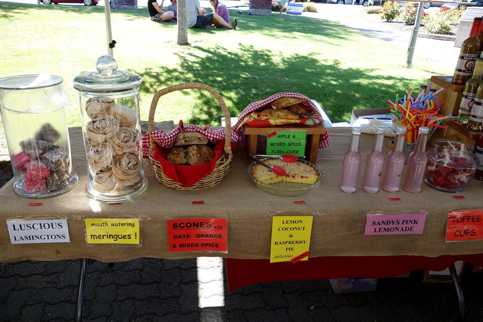 Amberley, NZ Baked Goods
