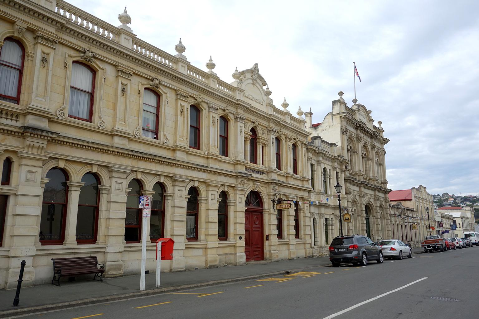 Oamaru, NZ town