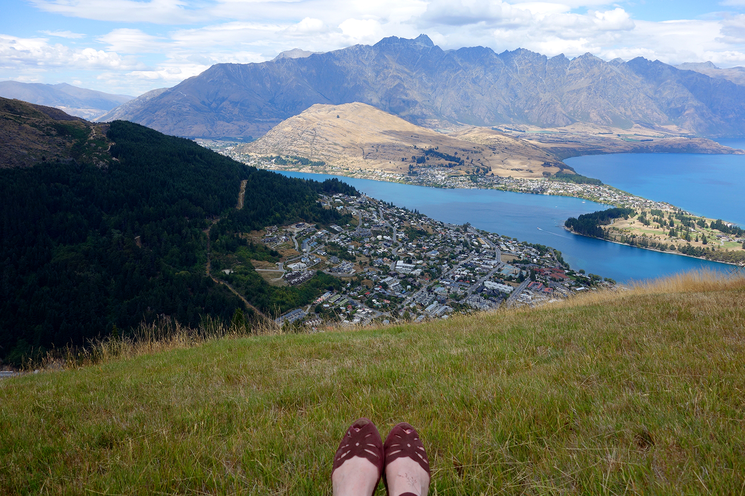 Queenstown Skyline resting spot