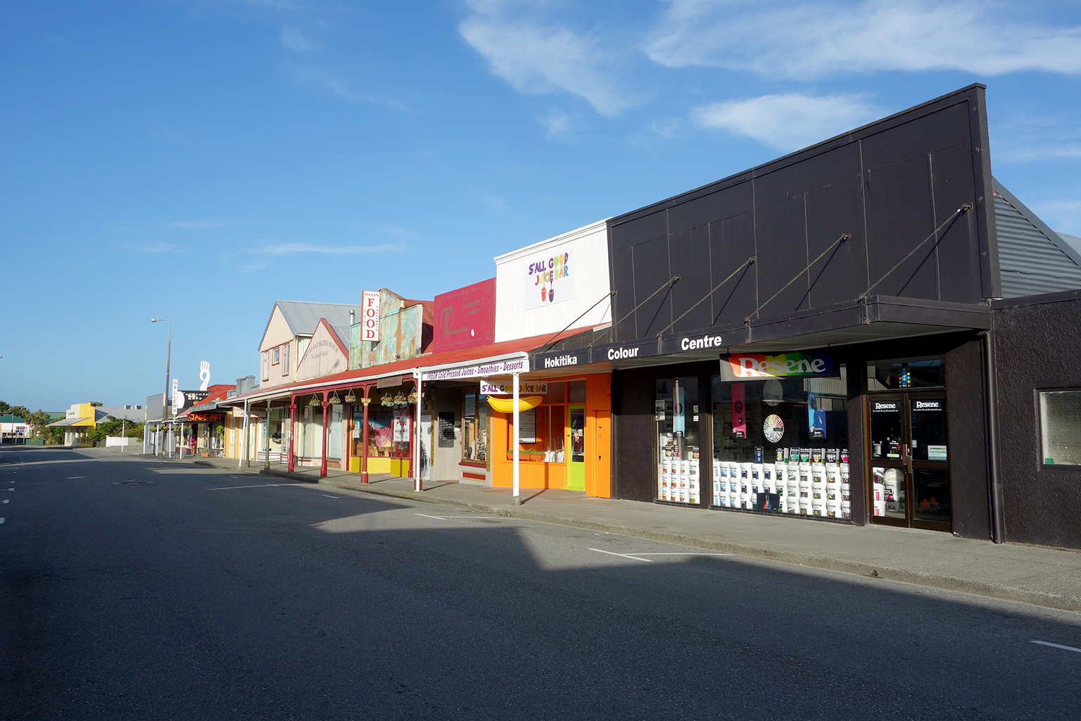 Hokitika Town, New Zealand
