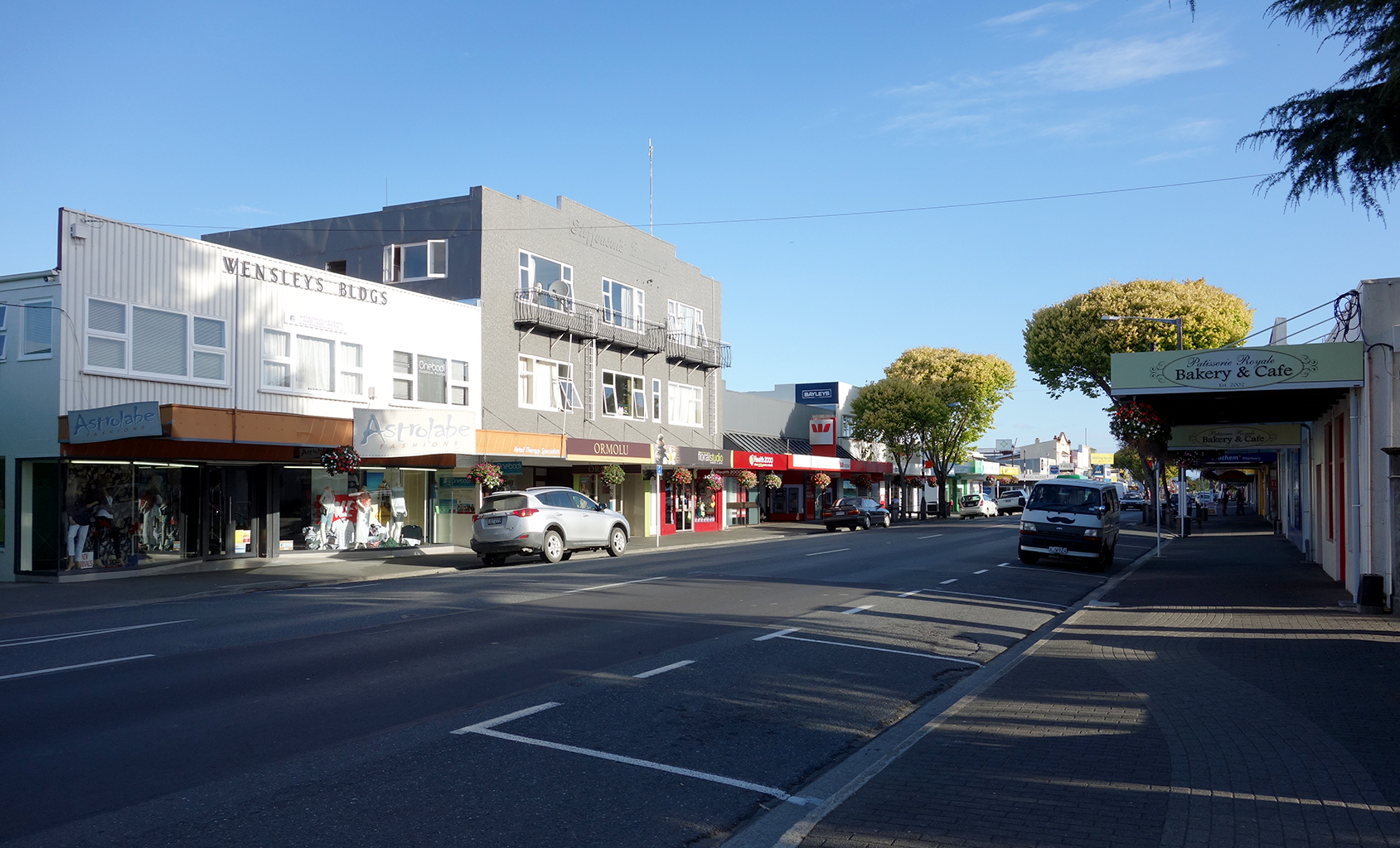 Downtown Motueka, New Zealand