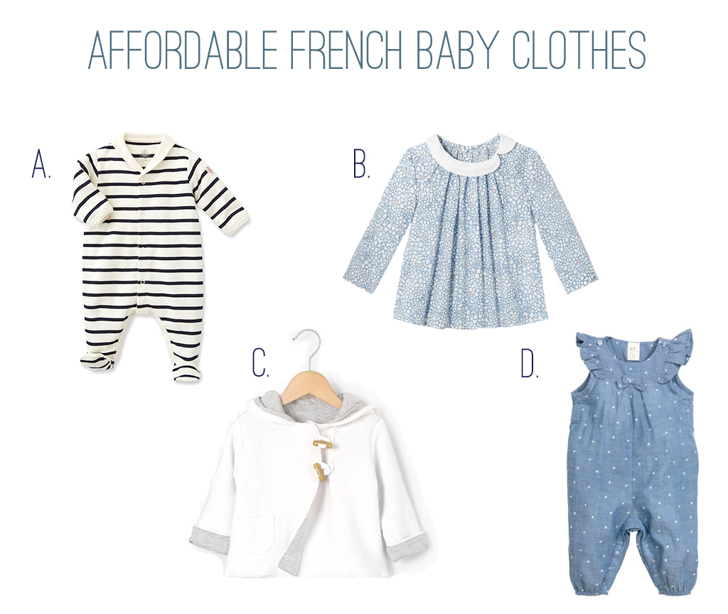 Buying affordable French baby clothes online