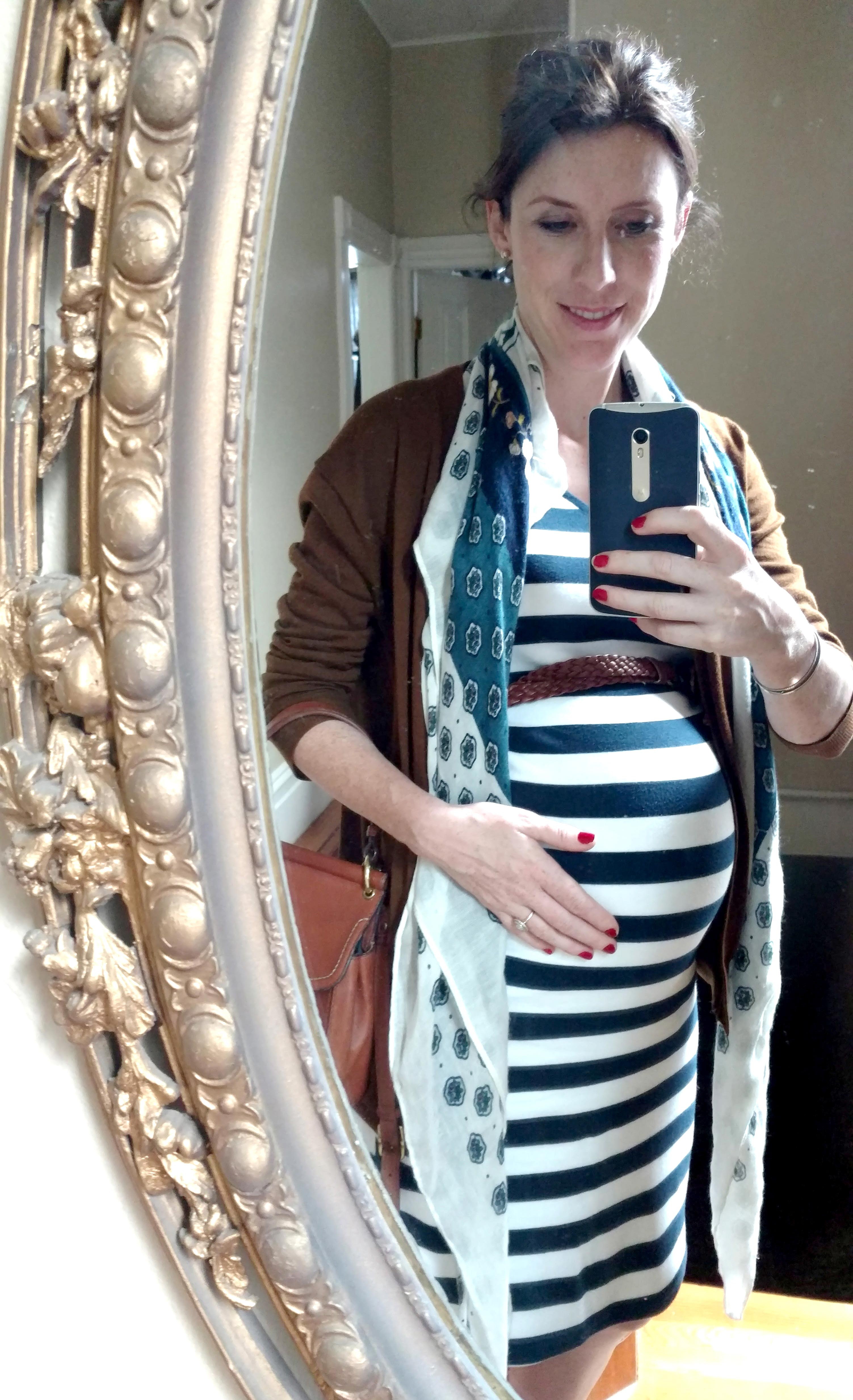 Breton dress maternity