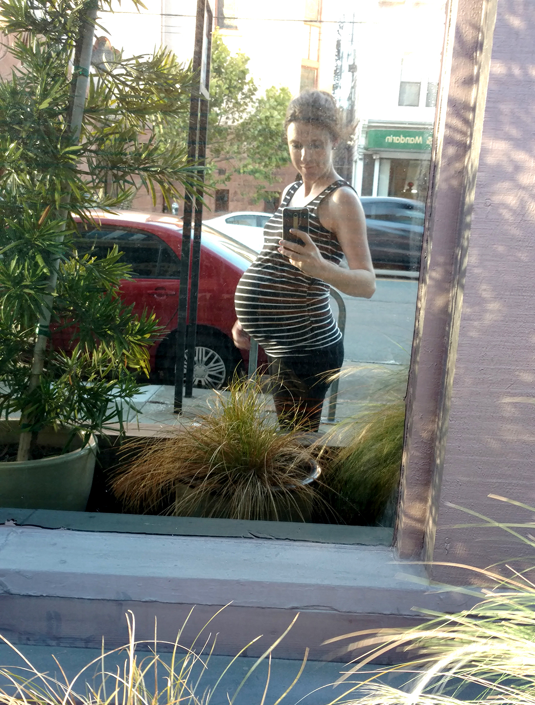 8 months prenatal yoga