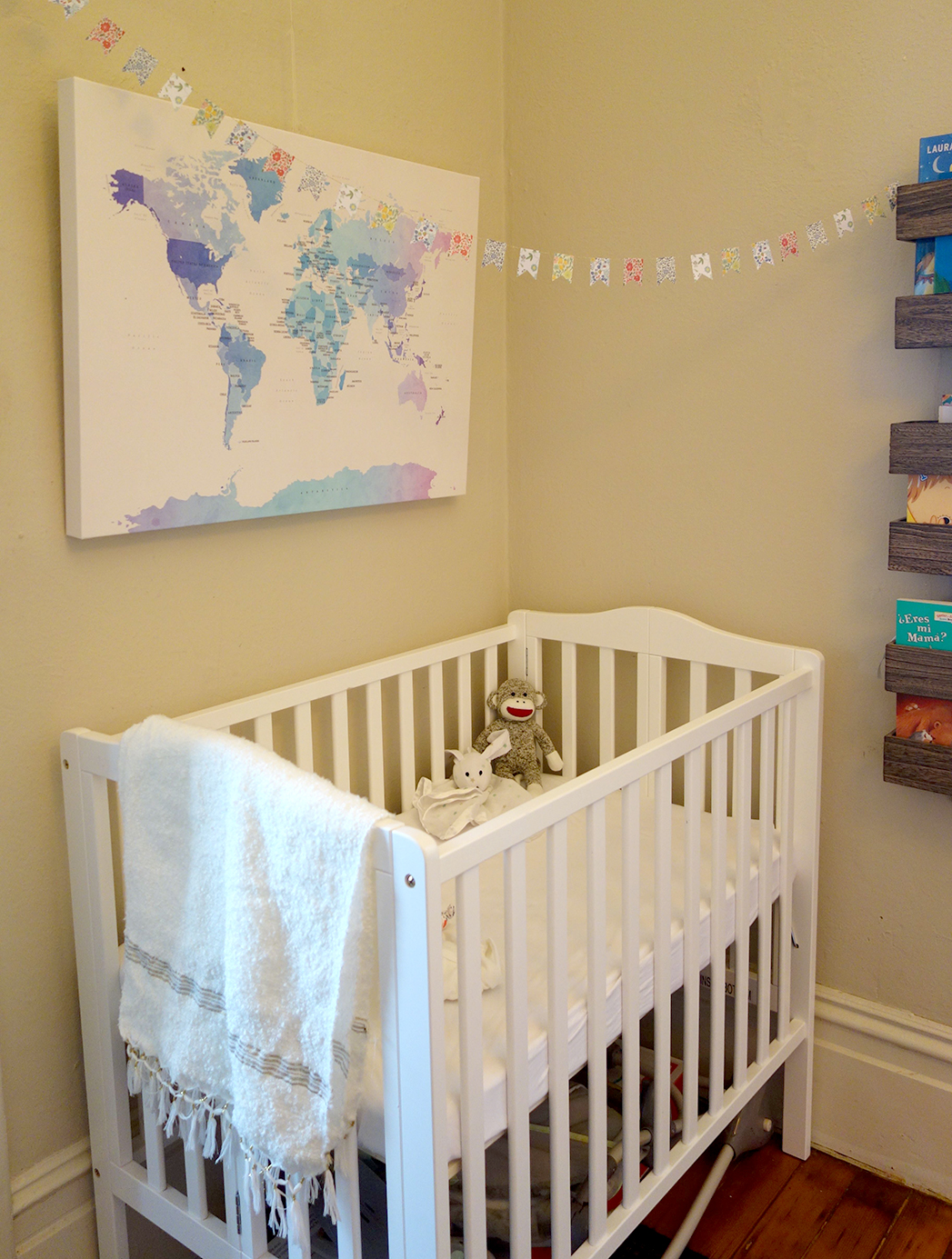 Small apartment crib