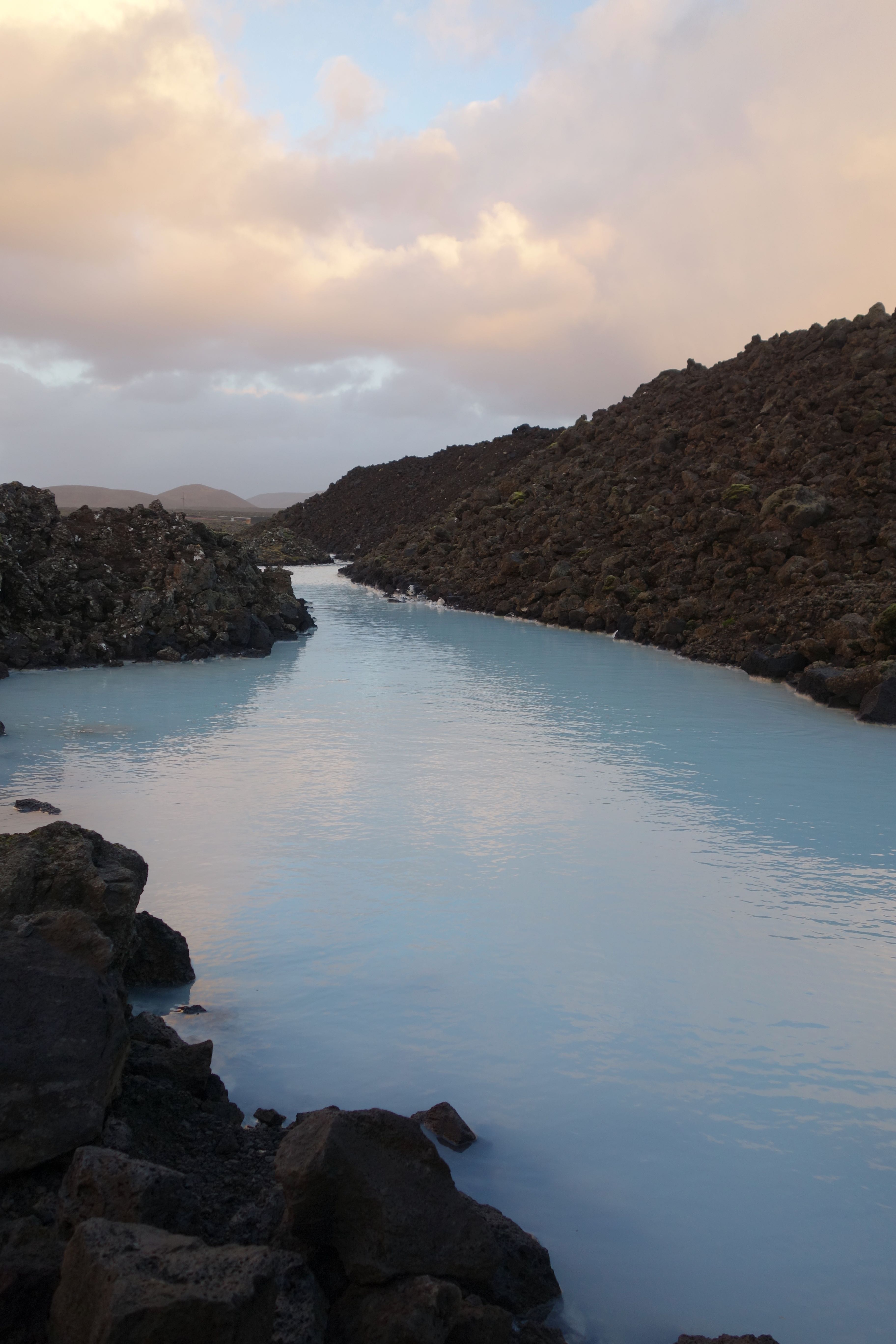 Blue Lagoon In November, Iceland