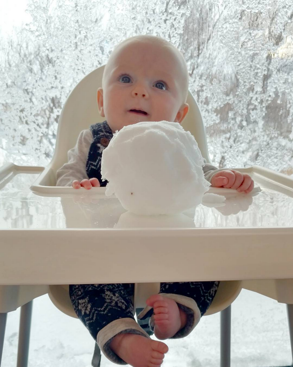 Traveling with a baby in Iceland in Winter