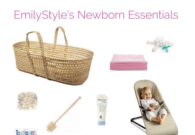 My 12 Favorite Newborn Essentials