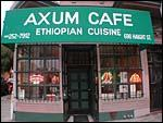 Restaurant suggestion: Axum Cafe