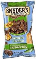 Things I love today: Jalepeno Cheddar Pumpernickel Pretzels