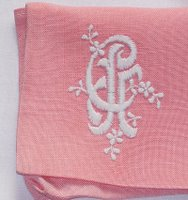 Crafty: Embroidering pillowcases