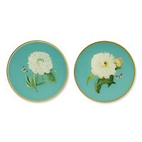 Things I love today: Peony plaques