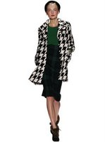 Obsession: DVF houndstooth coat
