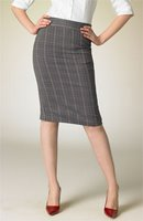 Things I love today: Plaid pencil skirt