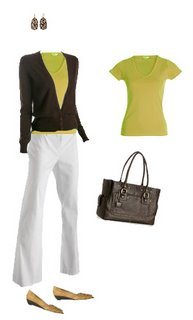 What to wear: Chartreuse