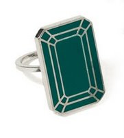 Things I love today: Emerald ring
