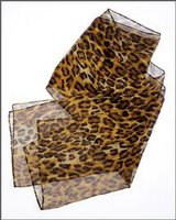 Bargain finder: Leopard print scarf