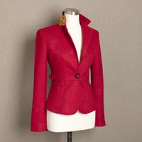 Coveted: Red J. Crew Blazer