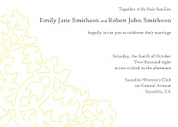 More Wedding Invitation Ideas