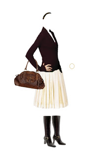 What to Wear: Full Skirt