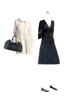What to Wear:  Blue and Black