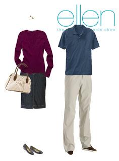 What to Wear: Ellen Taping