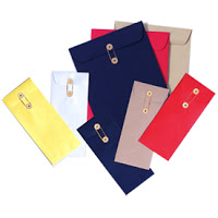 Things I Love Today: Button & String Envelopes