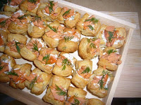 Recipe: Smoked Salmon Puffs