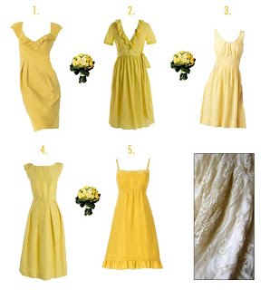 Wedding Wednesday: More Bridesmaid Dresses!