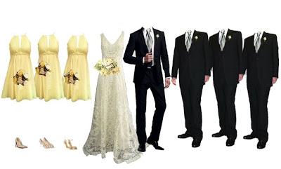 Wedding Wednesday: Bridal Party