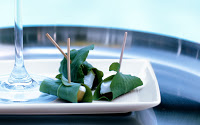 Recipe: Leaf Wrapped Appetizers