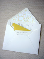 Wedding Wednesday: The Invitations