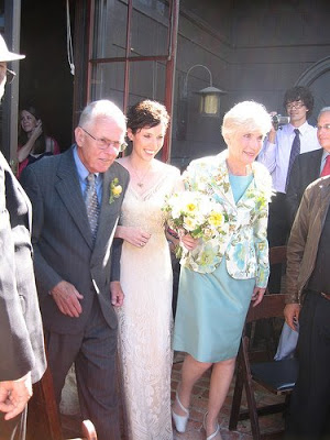 Wedding Day! Walking Out