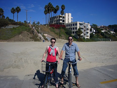 Honeymoon: Biking Long Beach