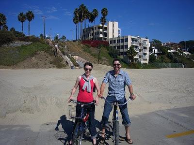 Honeymoon: Biking Long Beach