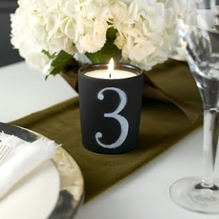 Gift Idea: Chalkboard Candle