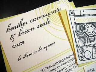 Wedding Wednesday: Gocco Inspiration