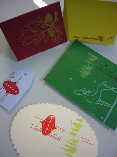 Ladies Activity Club: Gocco for the Holidays