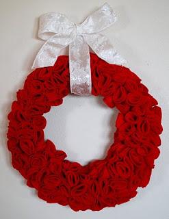 To Do: Felt wreaths