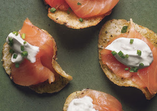 Salt & Pepper Salmon Appetizers