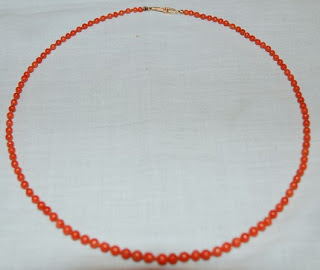 Inspired: Red Coral Necklace