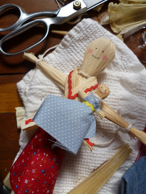 Party Recipe: Corn Husk Dolls