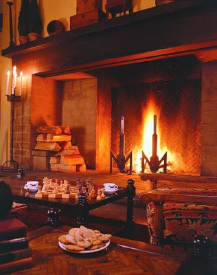 To Do: Hotel Fireplace