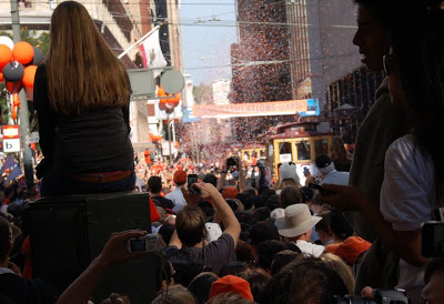 To Do: Ticker Tape Parade