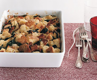 Recipe: Savory Bread Pudding