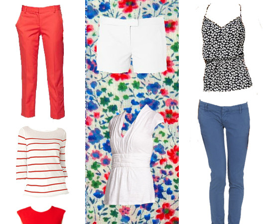 What to Wear: Red, White & Blue Summer