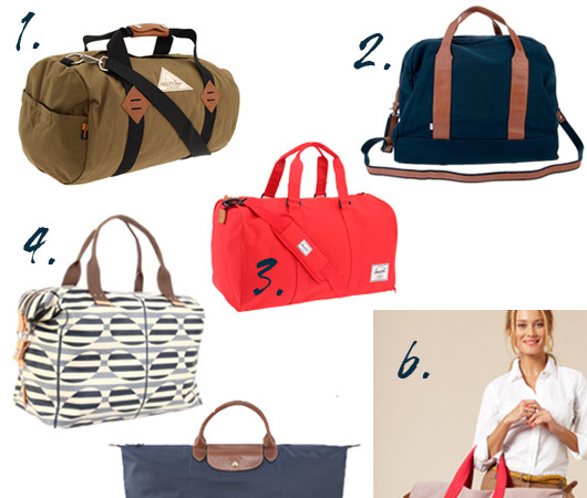 What to Travel: Weekender Bags