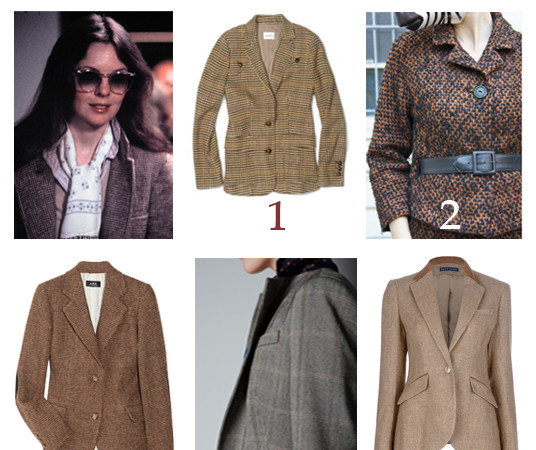 What to Wear: Tweed Blazer